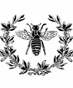 Bee & Laurel Wreath - Artisan Enhancements